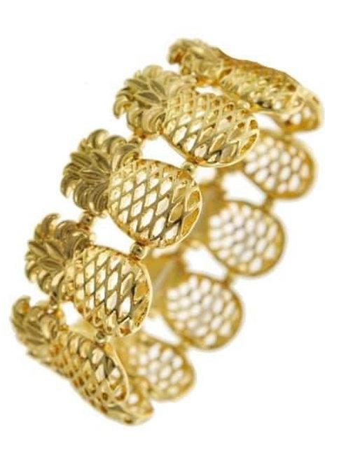 Susan's Fav Pineapple Bracelet