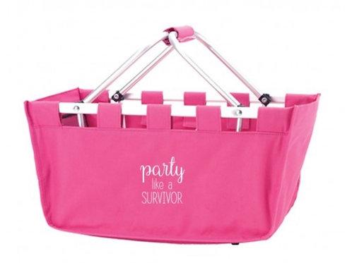 Pink Party Market Basket