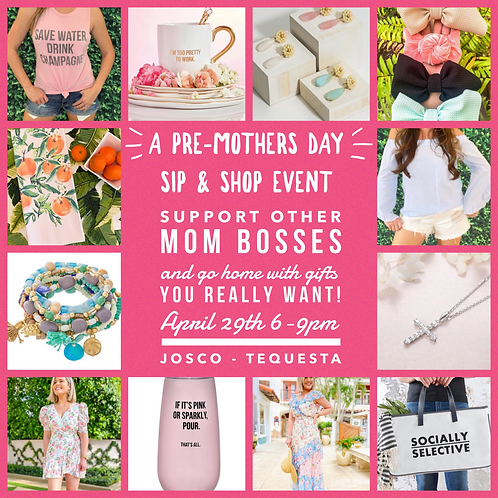 Pre Mother's Day Event (use code porch to remove shipping)