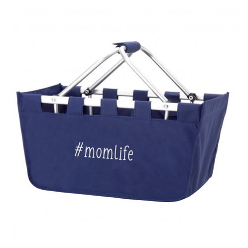 Mom life market tote