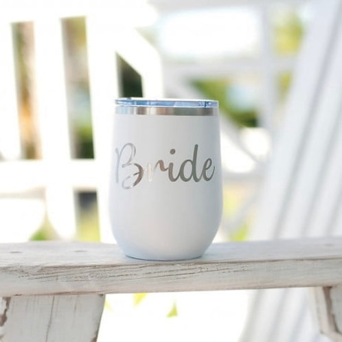 Bride stainless steel tumbler
