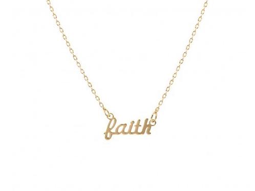 Script Necklace