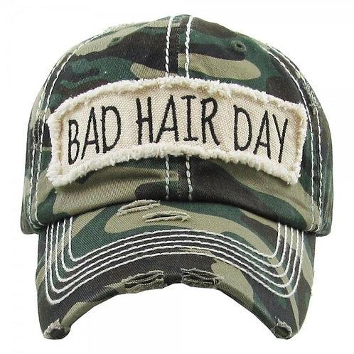 Camo Bad Hair Day