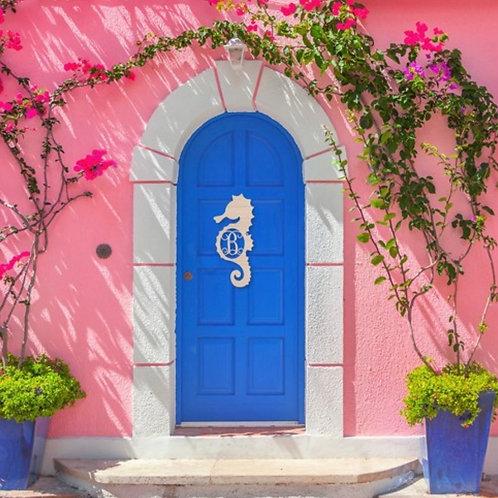 Seahorse Wall/Door Decor