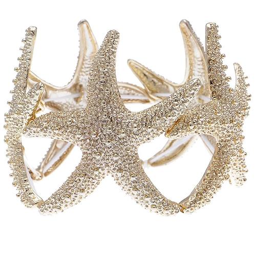 Starfish stretch bracelet