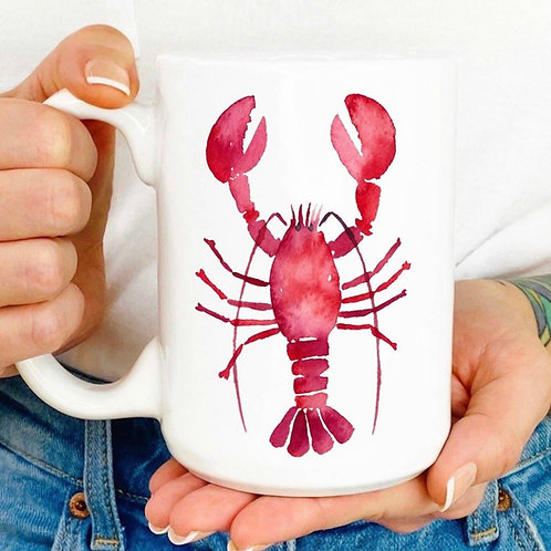 He's her lobster mug!