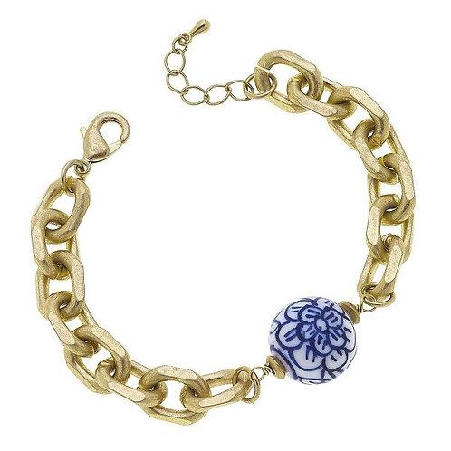 Chinoiserie Chain Bracelet