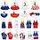 Thumbnail: Patriotic Earrings