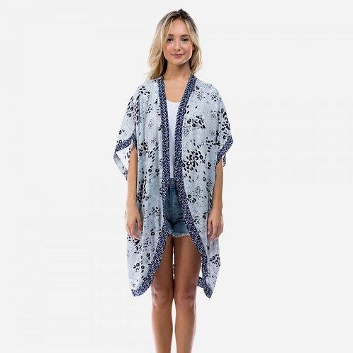 Blue Sweet Kimono