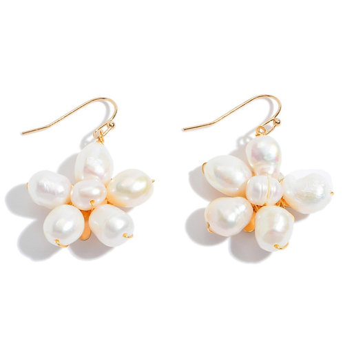 Starburst Pearl Earrings