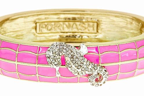 Seahorse pink bracelet