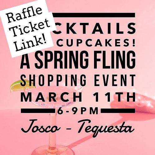 Raffle Tickets Spring Fling Event