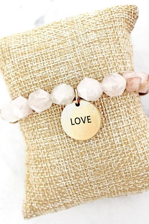 Beaded Message Bracelet