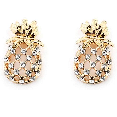 Lizzy Pineapple Earrings