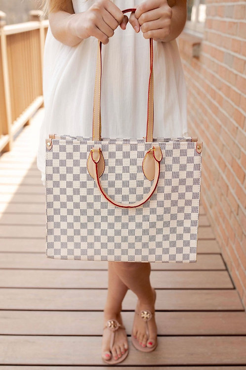 City luxe tote bag