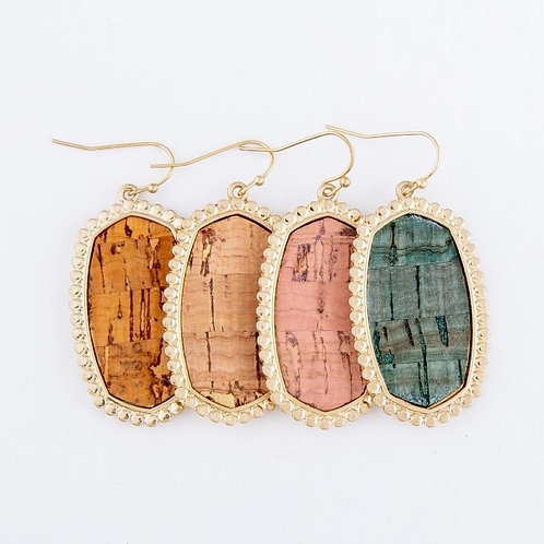 Sparkle Cork Earring