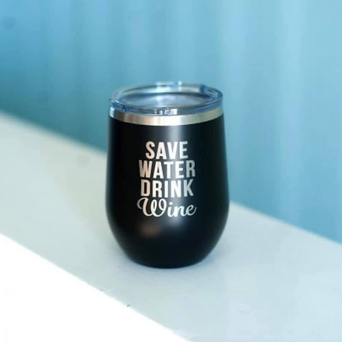 Save Water 12oz SS Tumbler