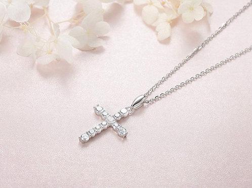 Leeann Cross Necklace