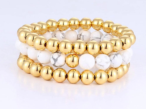 3 piece bead stack