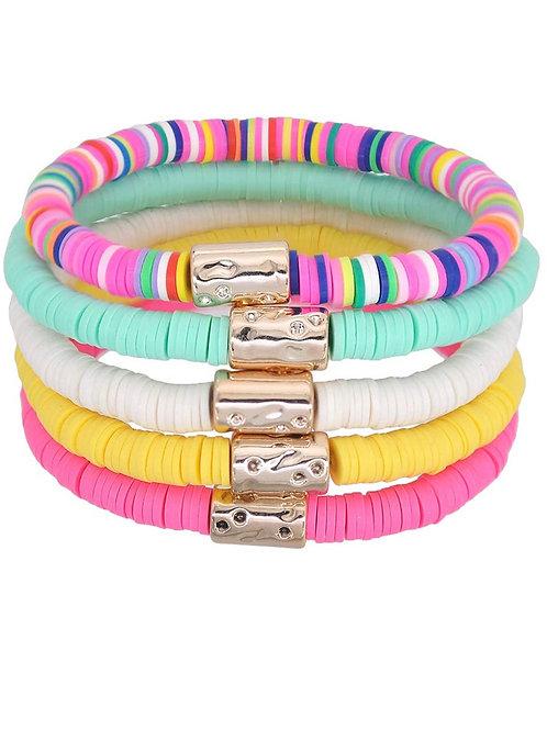 Abbys Bracelet Stack