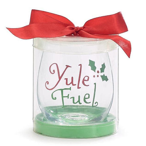 Yule Fuel Stemless Glass