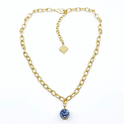 Chelsea Blue Necklace