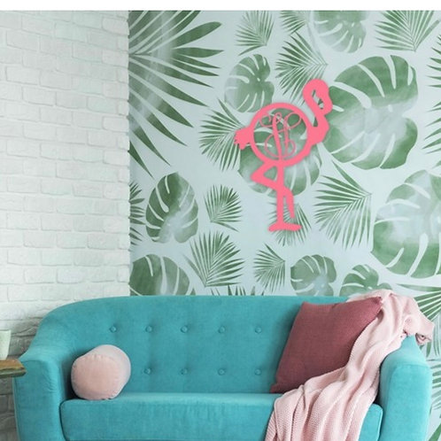 Flamingo Door Wall Decor