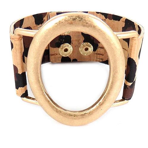 Cork Snap Bracelet