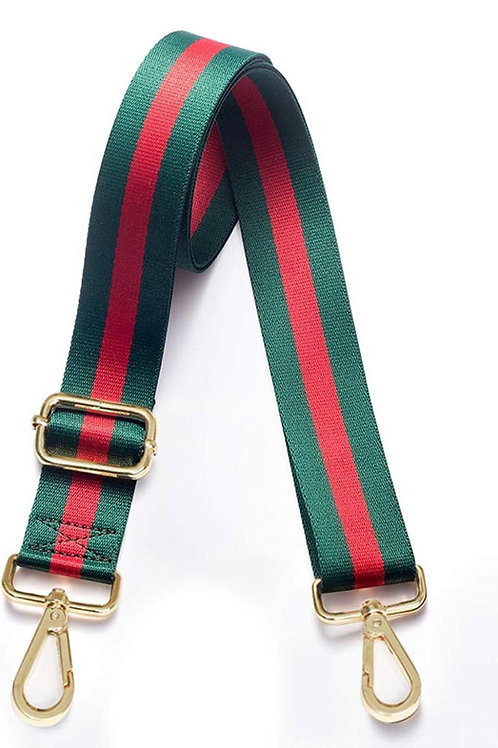 Red and Green Guitar Strap purse strap