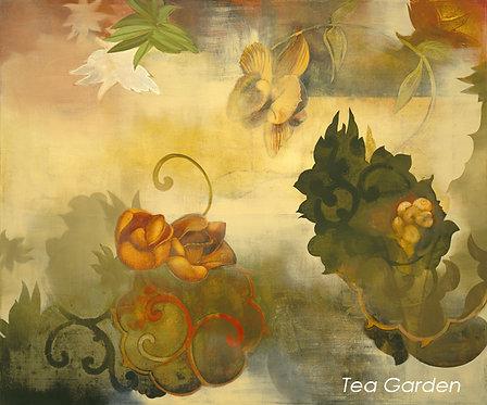 """Tea Garden Poster 37""""x44"""""""