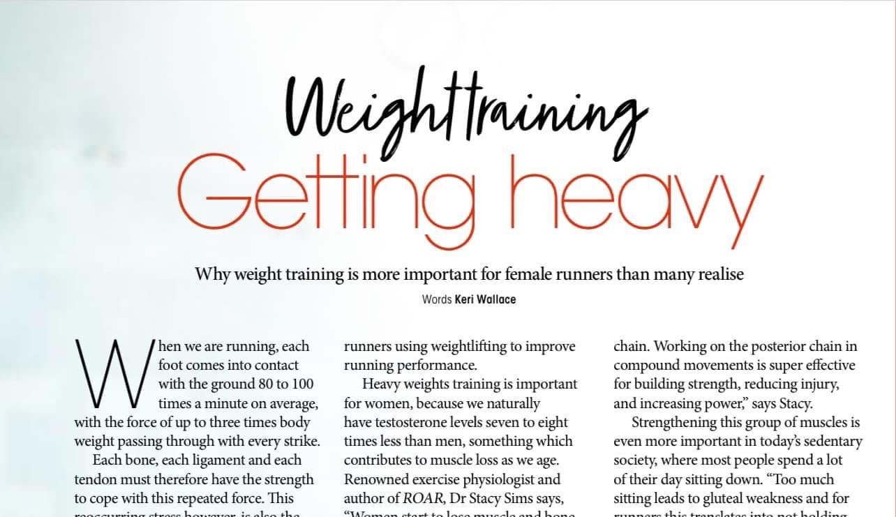 Weight Training - Getting Heavy