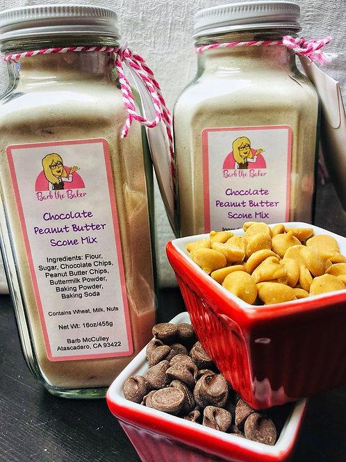 Chocolate Peanut Butter Scone Mix