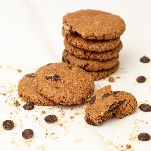 Chocolate Chip haver koeken | 3 stuks van 45 gram