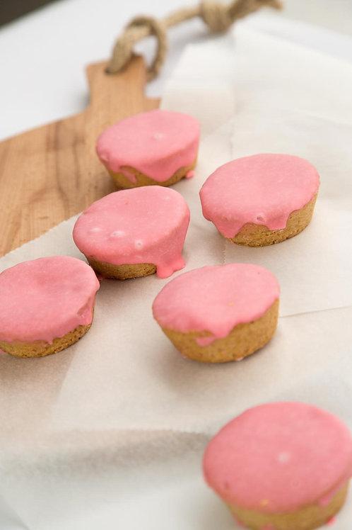 Roze koeken | 6 stuks