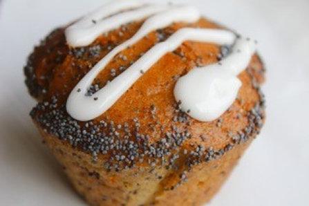 Lemon-poppy muffins | 6 stuks