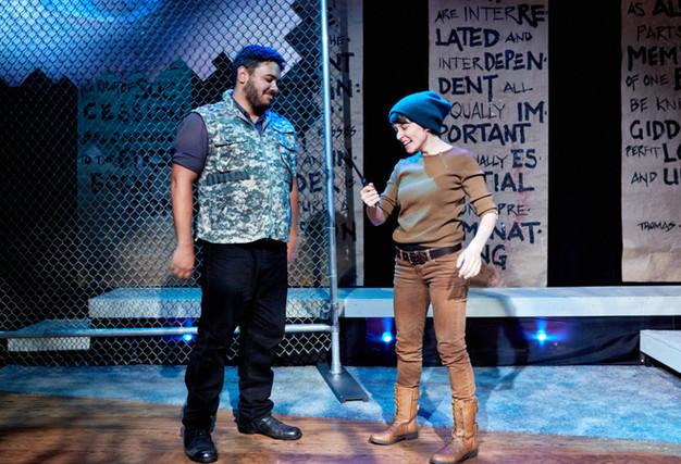 """Macbeth"" - Arabian Shakespeare Festival  Nathaniel Andalis, Nicole Weber"