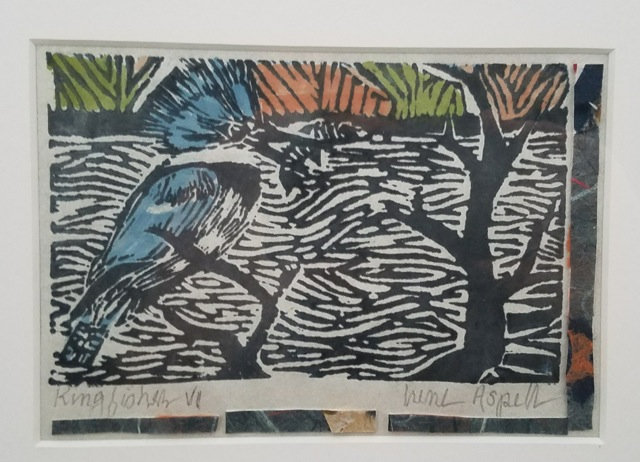 Irene Aspell's Original Linocut Prints