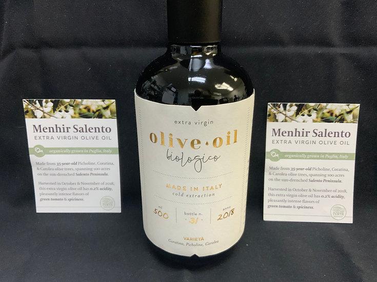 Menhir Salento Organic Olive Oil