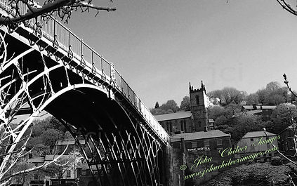Ironbridge and Village mono.jpg
