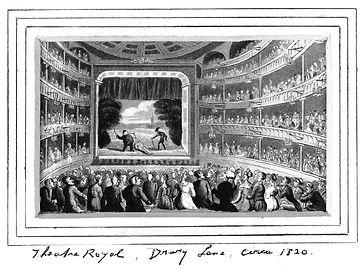 Theatre Royal - Drury Lane c. 1820