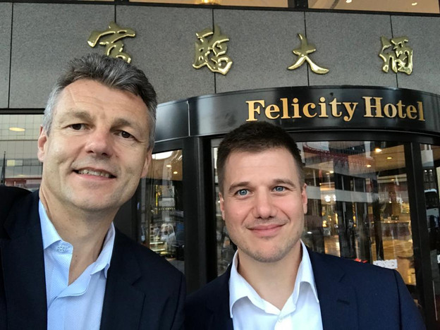 Urs and Bernd at LBMA Conference in Shenzhen