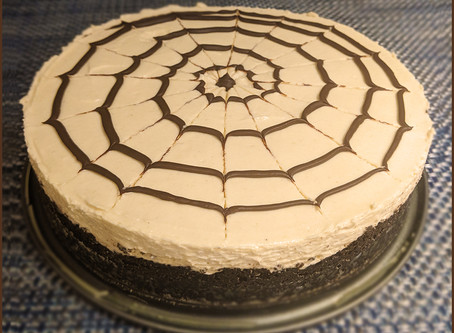 Chocolate Tahini Mousse Pie