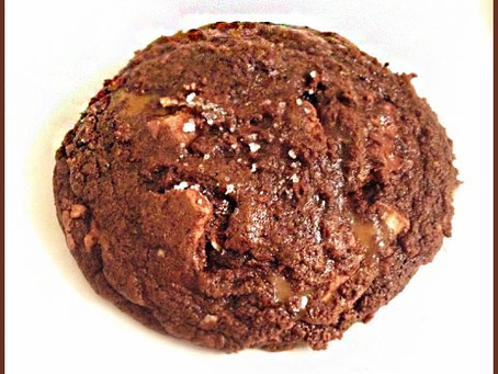 Thick & Chewy Triple Chocolate Cookies