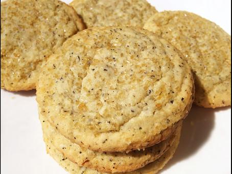 Earl Grey Sugar Cookies