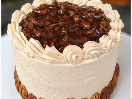 Pecan Pie Layer Cake