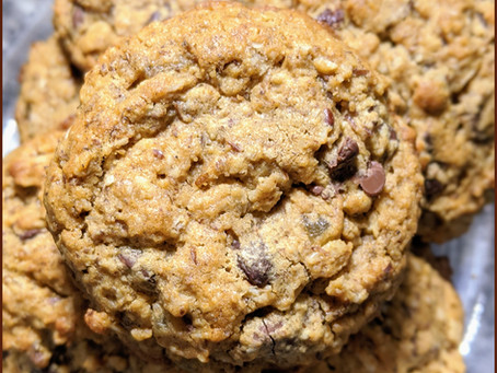 Lactation Cookies (or really great oatmeal chocolate chip cookies)