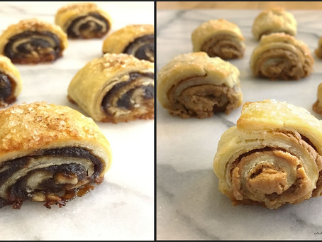Apple & Cookie Butter Rugelach
