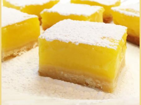 The Lemoniest Lemon Bars