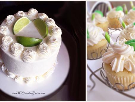 Gin & Tonic Cake / Cupcakes