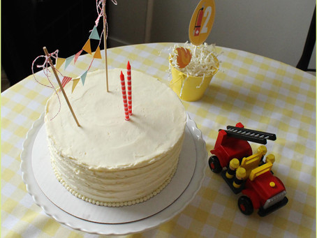 Vanilla Vanilla Cake